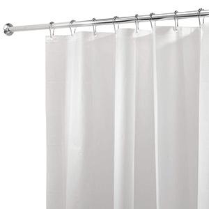 best interdesign mildew resistant shower curtain liner