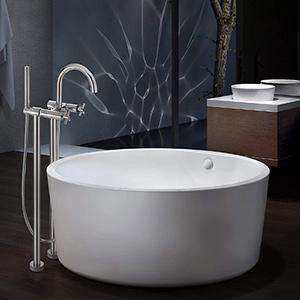 best maykee vale 53inch freestanding bathtubs