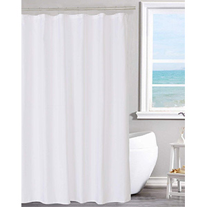 best NY home fabric shower curtain liner